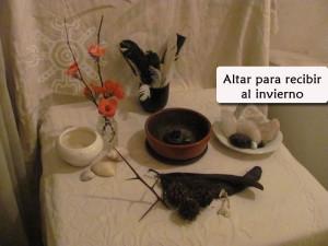 altar invierno